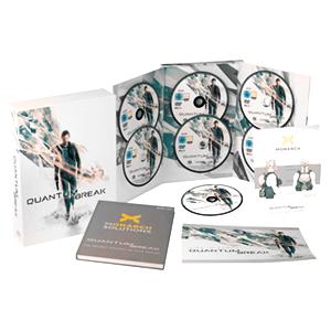 Sélection de jeux en promotion - Ex: Quantum Break Edition Collector : Le jeu + La Bande Originale + Livre Making-off / Artbook + Posters sur PC