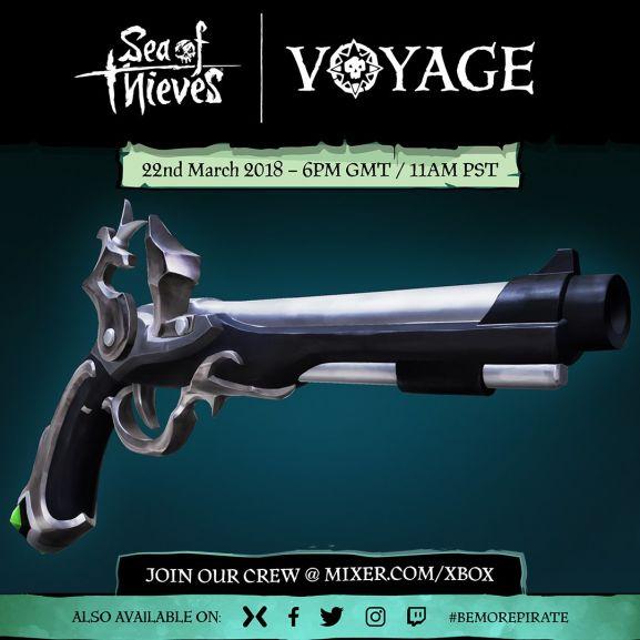 Skin Flintlock gratuit sur Sea of Thieves (Dématérialisé)