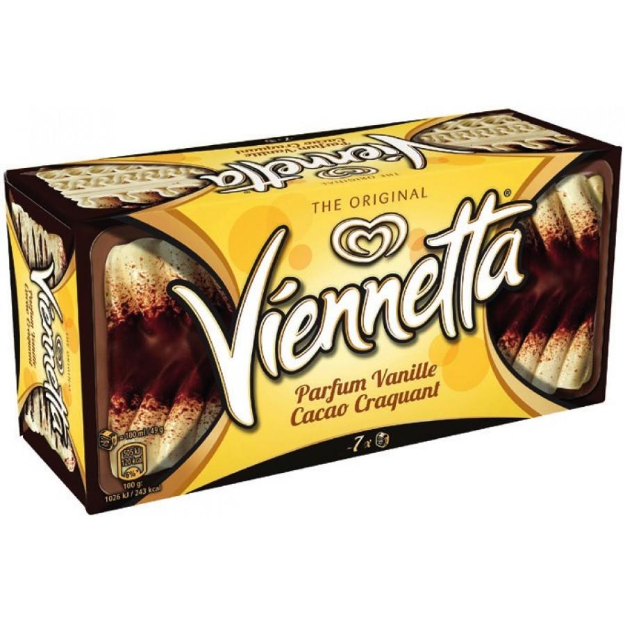 Dessert glacé Viennetta - 320g - Différentes variétés (via 0.97€ sur la Carte)
