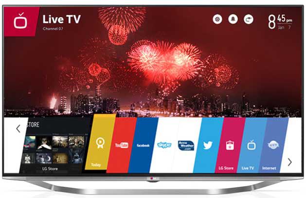 """TV 65"""" LG 65UB950 Smart TV Ultra HD 4K + 4 films Ultra HD offerts par Wuaki"""