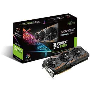 Carte graphique Asus GeForce GTX 1080 STRIX - 8 Go