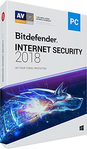 Anti-Virus Bitdefender internet Security pour 5 PC - Abonnement 2 Ans (Version boite)