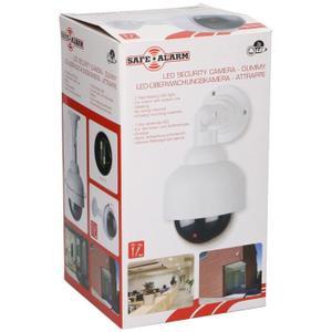 Caméra de surveillance factice Safe Alarm 360 Degrés - LED