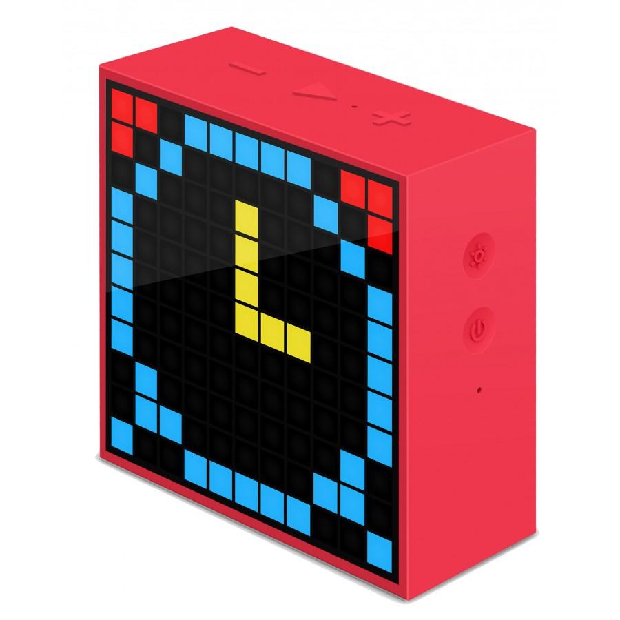 Réveil / enceinte à LED Logicom TimeBoxMini - rouge chez Amazon