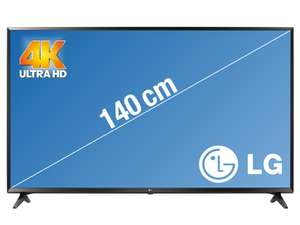 "TV 55"" LG 55UJ630V - 4K UHD, LED, Smart TV (frontaliers Suisse)"