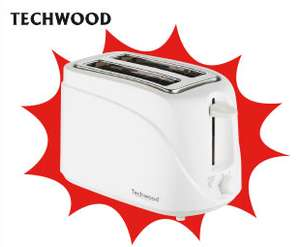 Grille pain 2 fentes Techwood 700W