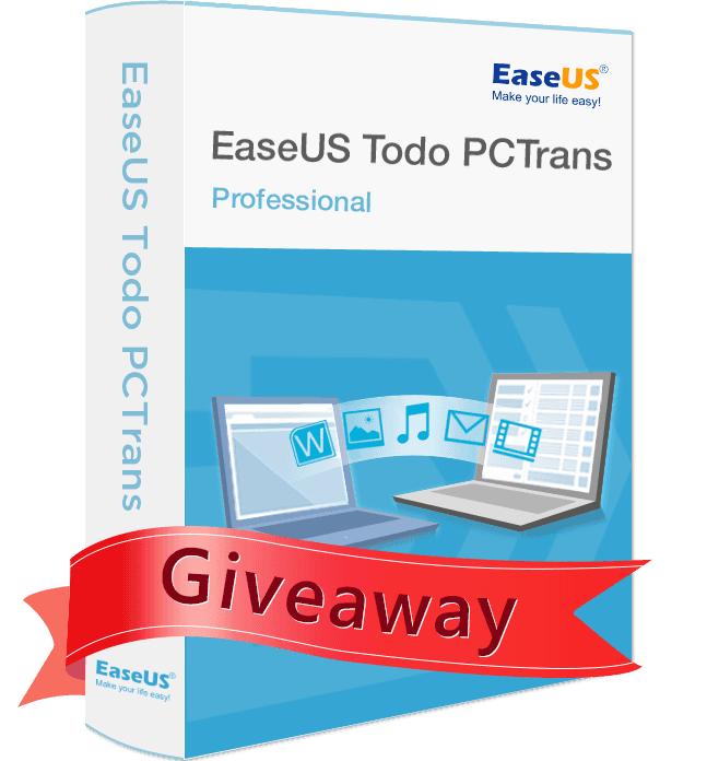 Logiciel EaseUS Todo PCTrans Pro 9.8 gratuit sur PC
