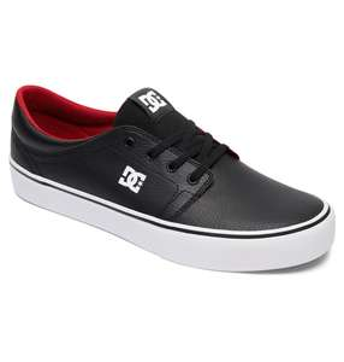 Sélection de chaussures en promotion - Ex : DC Shoes Trase ADYS300402 pour Homme - Cuir, Noir/Blanc