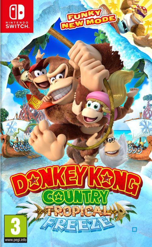 [Pré-commande - adhérents] Donkey Kong Country: Tropical Freeze sur Nintendo Switch (+ 10€ sur le compte fidélité)