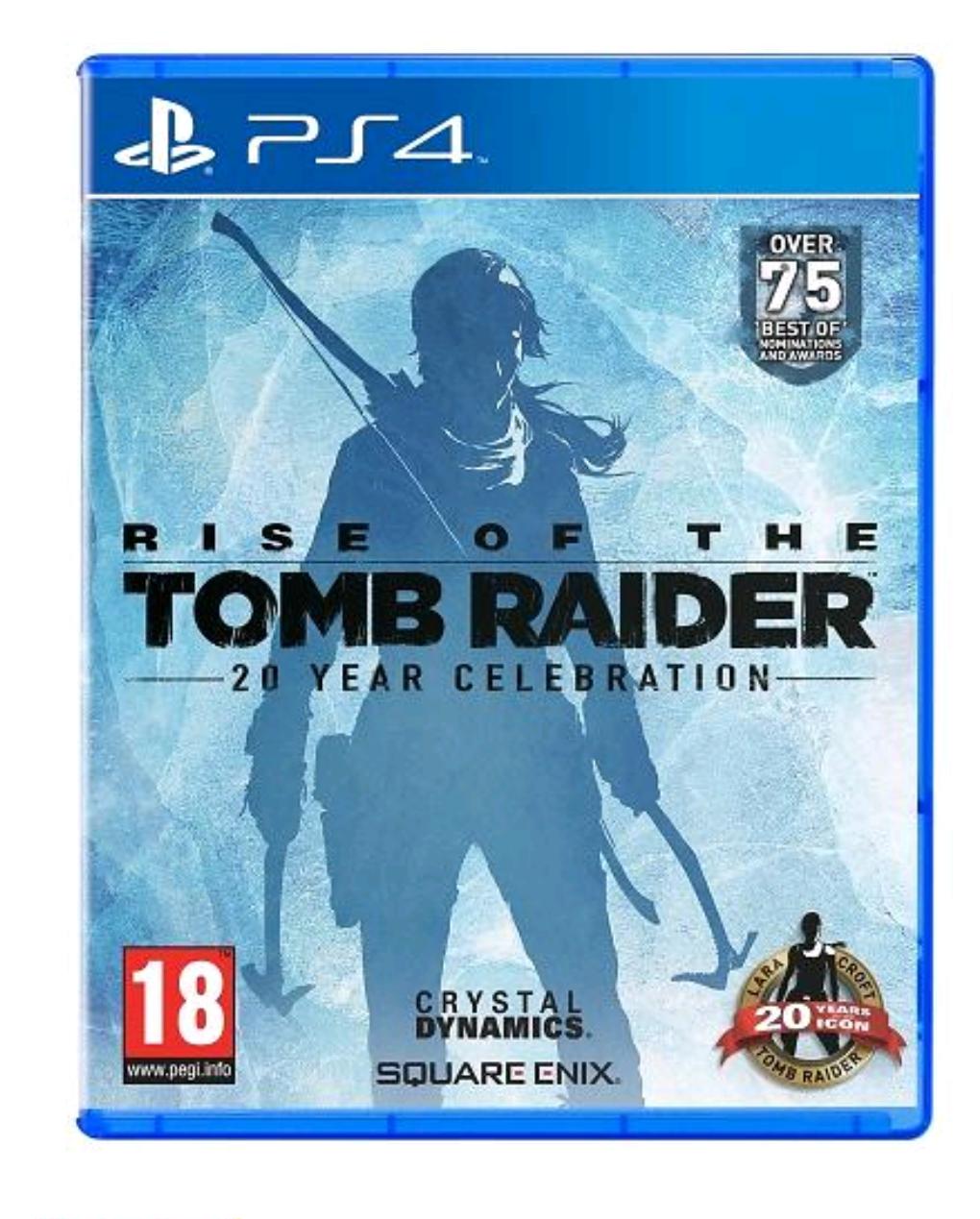 Rise of the Tomb Raider : 20ème anniversaire sur PS4
