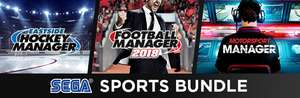 Bundle Sega Sports : Football Manager 2018 + Motorsport Manager + Eastside Hockey Manager sur PC (dématérialisés, Steam)