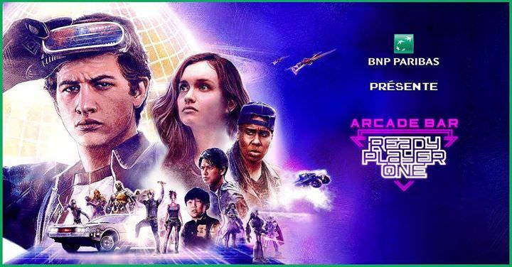 Accès gratuit aux jeux arcades et des expériences de réalités virtuelles en Arcade bar à l'occasion de la sortie du film Ready Payer One - Du 21 au 27 Mars (Paris 75)