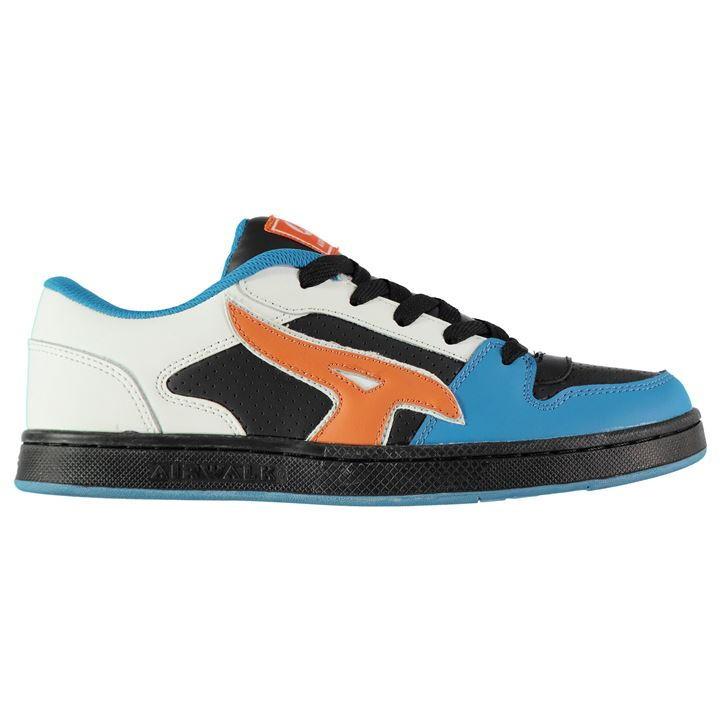 Sélection d'articles de skaters en promotion - Ex : chaussures Airwalk Reflex Low Trainers - blanc / bleu / orange (du 41 au 46)