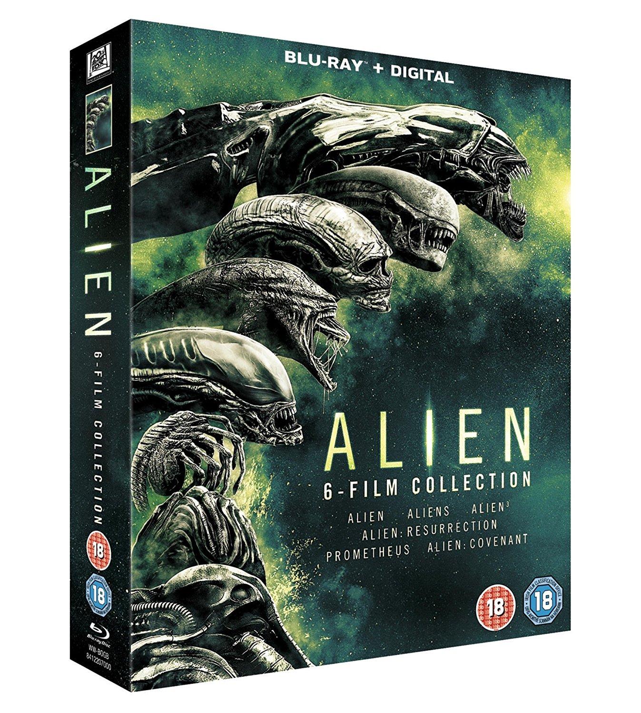 Coffret Blu-Ray Alien - L'intégrale des 6 Films