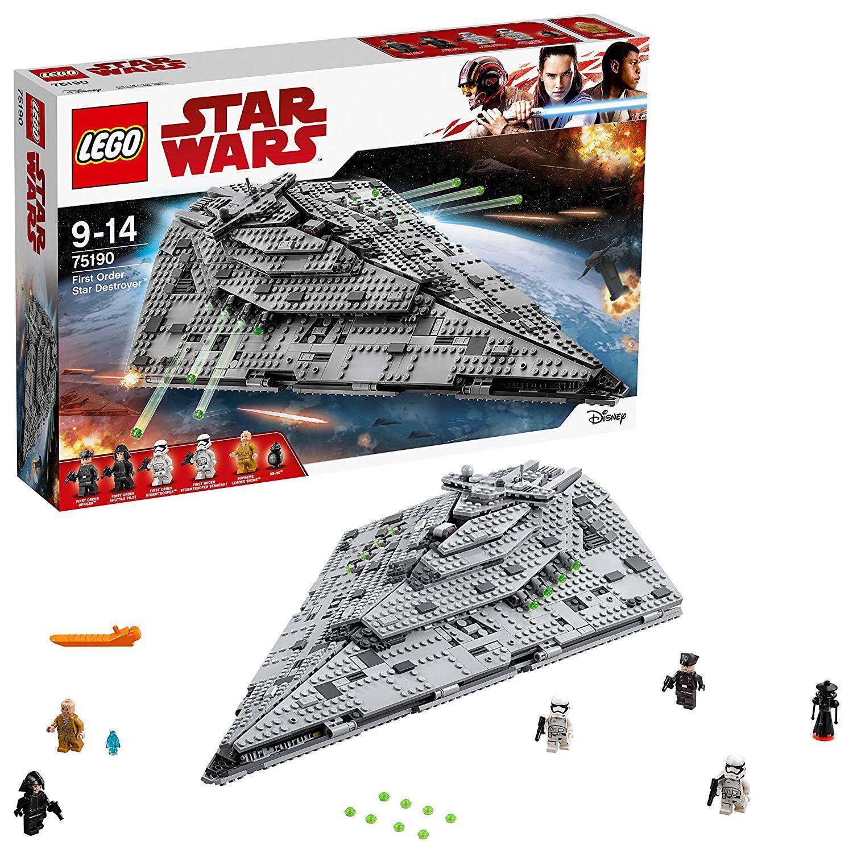Jeu de construction Lego Star Wars 75190 - First Order Star Destroyer