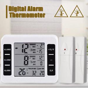 Station thermomètre avec capteurs sans fil