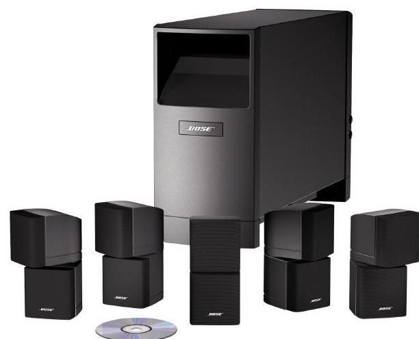 Kit Son 5.1,  6 enceintes Bose Accoustimass 10 - 350 W