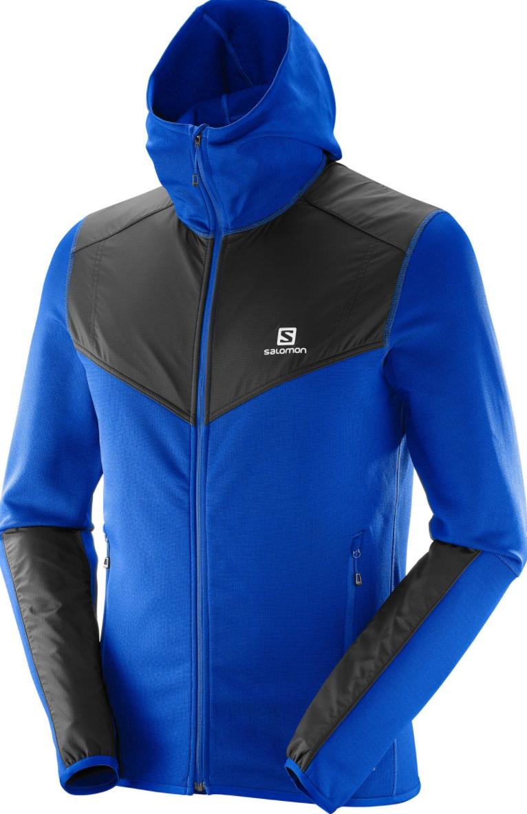 Polaire Homme Salomon Hoodie X Alp Mid M Surf The Web (Taille L et XL)
