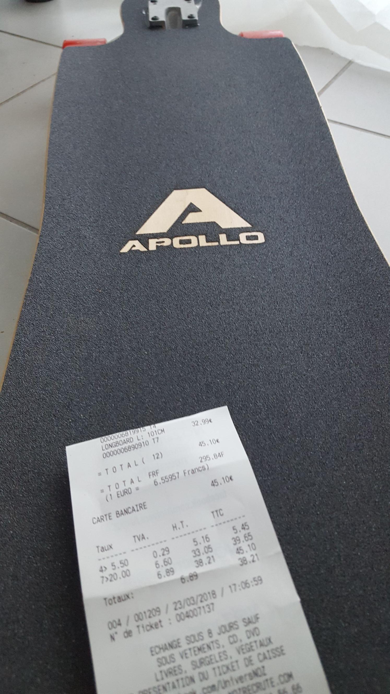 Longboard Tahiti Apolo 101cm - Saint-Genis-Pouilly (01)