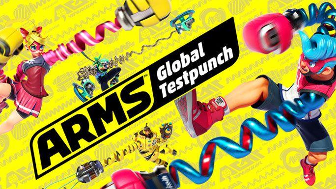 Arms jouable gratuitement sur Nintendo Switch du 31/03 au 03/04