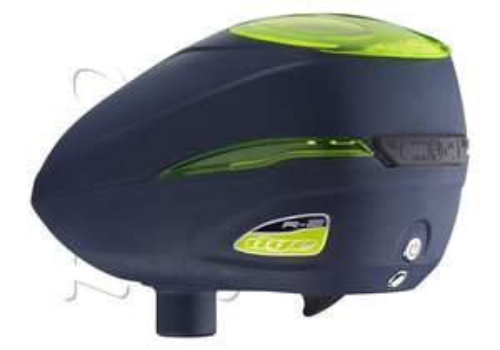 Loader électrique DYE R2 - Vert/Bleu (paintball)