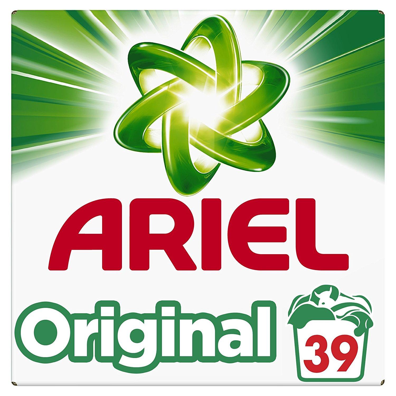 Lessive en poudre Ariel Original - 39 lavages, 2,4Kg
