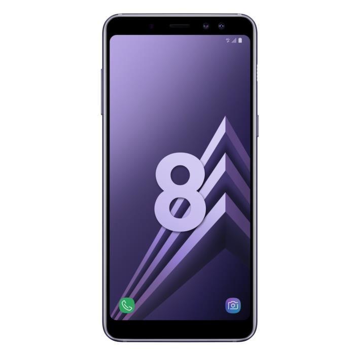"""Smartphone 5.6"""" Samsung Galaxy A8 - 4 Go de Ram, 32 Go, Coloris au choix (via ODR de 70€)"""