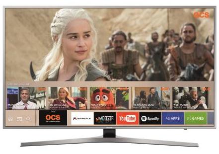 """[Adhérents] TV 65"""" Samsung UE65MU6405 UHD 4K + Barre de son HW-550 + Google Home Mini  + 120€ sur le compte fidélité (via ODR de 400€)"""