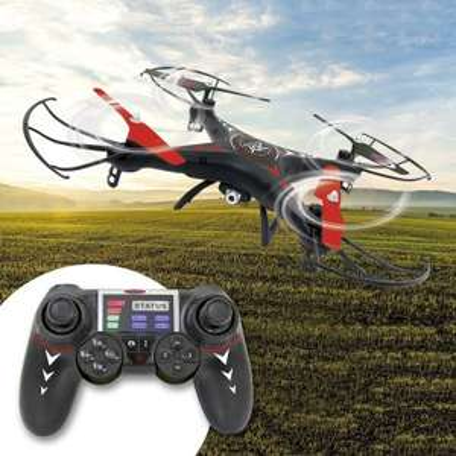 Drone télécommandé avec Caméra - 4 Niveaux de vitesse - Mémoire de 4Go