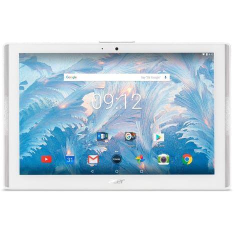 """Tablette 10.1"""" Acer Iconia ONE 10 B3-A40-K6U9 - Android 7.0, 1280 x 800, MT8167, RAM 2 Go, ROM 16 Go (via ODR de 50€)"""