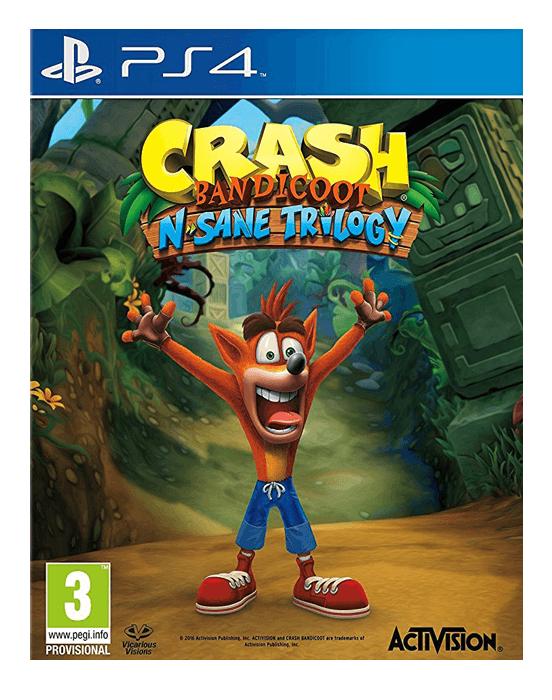 Crash Bandicoot N. Sane Trilogy sur PS4 (Dématérialisé) - Non compatible avec un compte FR