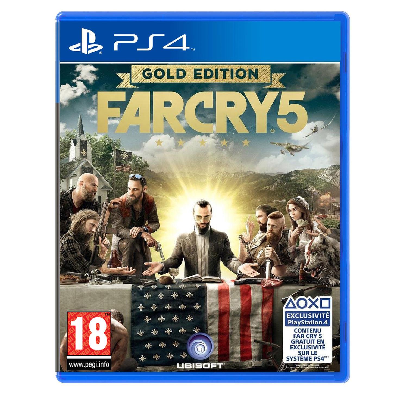 [Précommande] Far Cry 5 - Edition Gold (Inclus Season Pass) sur PS4 et Xbox One