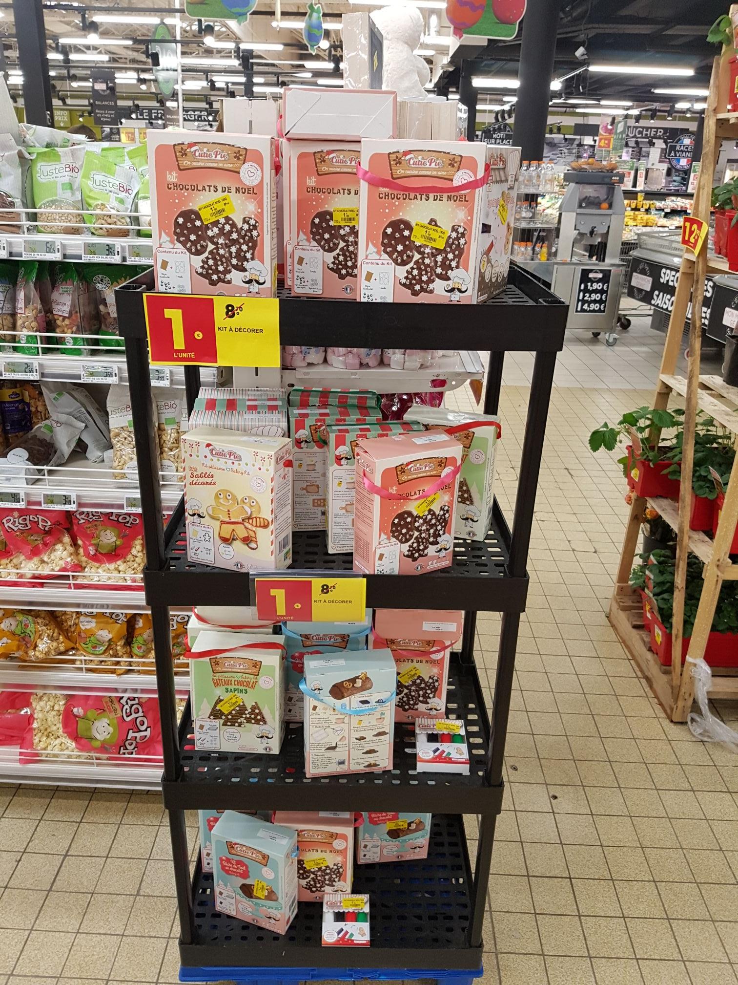Sélection de Kit à Décorer Pâtisserie - Ex : Chocolat de Noel (Saint-Michel-sur-Orge 91)