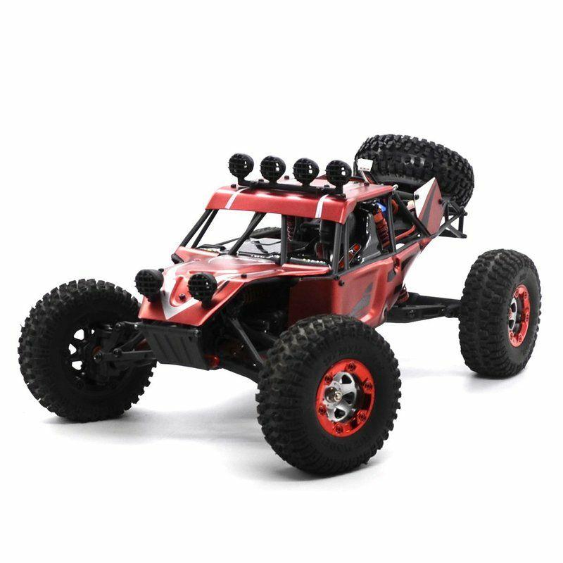 Buggy Radio-commandé RTR Virhuck V01 1:12 4WD, 1500mAh, Vmax 40km/h - avec Outils de Réparation (Vendeur tiers)