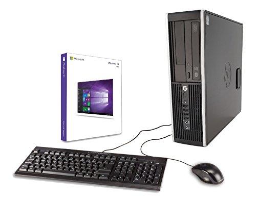 PC de bureau HP Elite 8300 - i5-3570, 8 Go RAM, 240 Go SSD + 1 To, GTX1050 + Clavier/Souris (Reconditionné - Vendeur tiers)