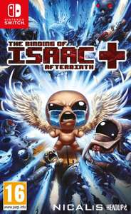 Jeu The Binding of Isaac Afterbirth + sur Nintendo Switch