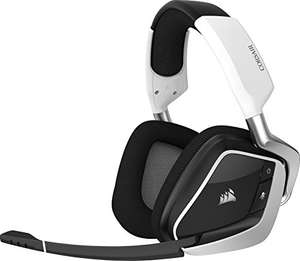 Casque gaming sans fil Corsair VOID Pro RGB Wireless - Dolby 7.1, Blanc