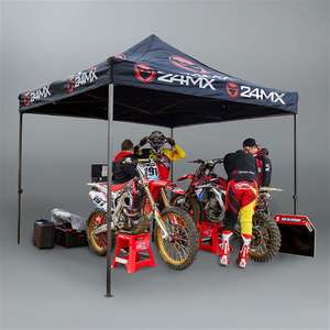 Tente moto 24MX Easy-Up sans cloisons - 3x3m