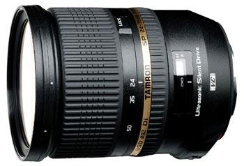Objectif reflex Tamron 24-70mm 2,8 SP Di VC USD - Monture Canon + 70€ en chèque cadeau