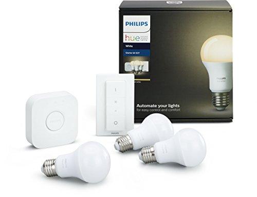 Pack de démarrage Phillips hue 3 ampoules + pont et télécommande