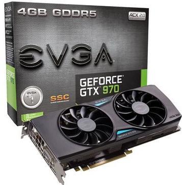 Carte graphique EVGA GeForce GTX 970 SSC ACX 2.0+  + The Witcher 3