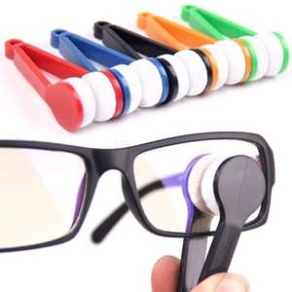 Mini pince-chiffon de nettoyage pour lunettes (frais de port inclus)