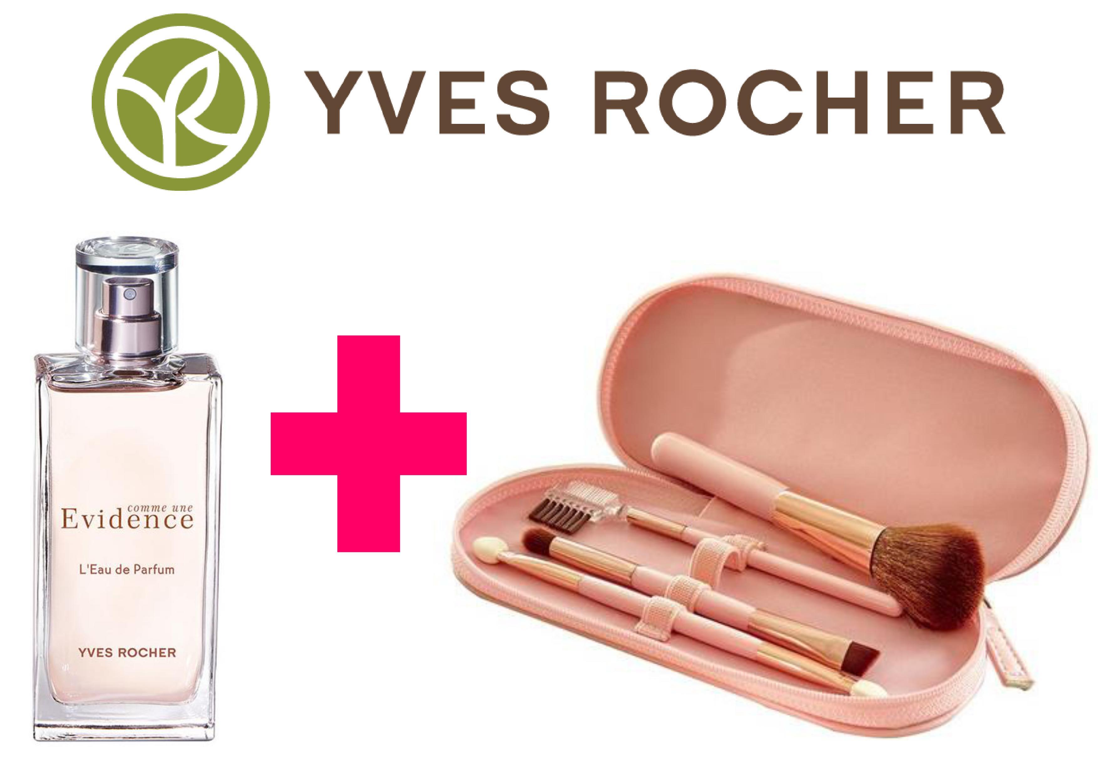 [Clients uniquement] Parfum comme une Evidence 50ml (39,80€) + Trousse de 4 pinceaux + Livraison incluse