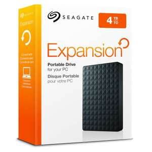 "Disque dur externe 2.5"" Seagate Expansion, 4 To (Frontaliers Suisse)"