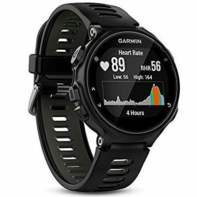 Montre GPS Multisports Garmin Forerunner 735XT avec Cardio Poignet - Noir ou Bleu