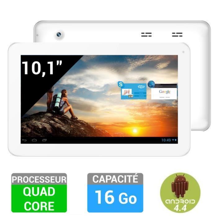 """Tablette  10"""" Storex eZee' Tab10Q12-S - 16Go blanche (Quad-Core, 1 Go Ram)"""