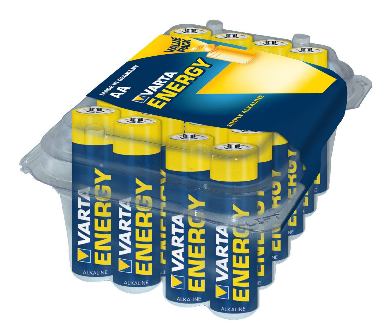 [Panier plus] Lot de 24 piles alcaline AA Varta Energy