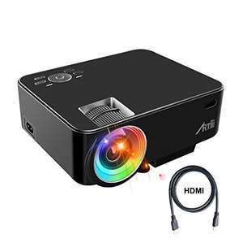 Vidéoprojecteur LED Artlii - HDMI,USB, VGA  (Vendeur Tiers)