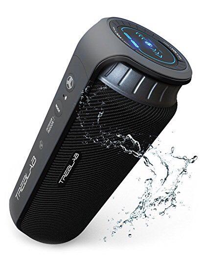 Enceinte Bluetooth Treblab HD55 - 24W - Stéréo 360 - Étanche IPX4 (Vendeur tiers)