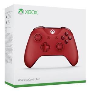 Manette sans-fil Microsoft Xbox One - Rouge à 37.82€ et Noire ou Blanche à 38.79€